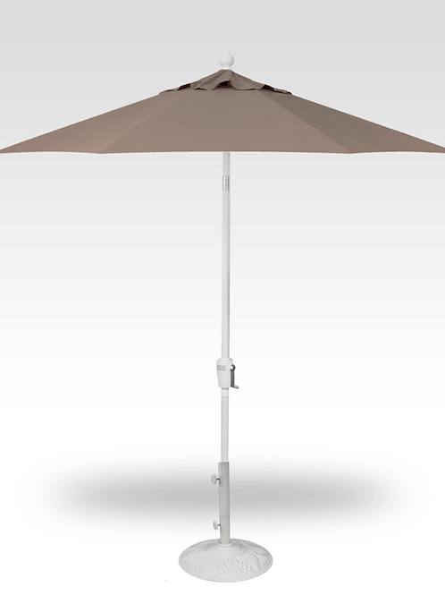 7.5' Push Button Tilt Crank Umbrella