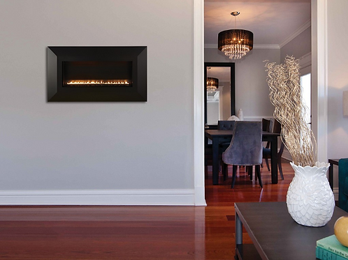 """30""""Vent Free Linear Fireplace"""