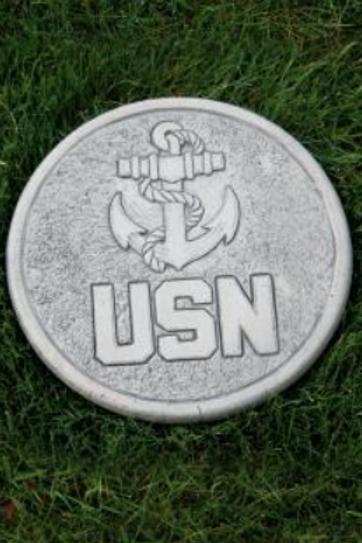 "10"" round stone-Navy"