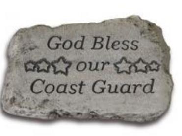 """10"""" stone-coast guard"""