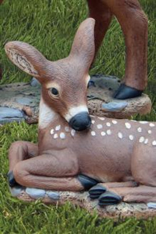 "13"" Laydown Fawn (Head Down)"