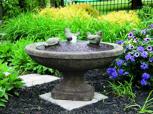 "16"" Singing Birds Oval Fountain"