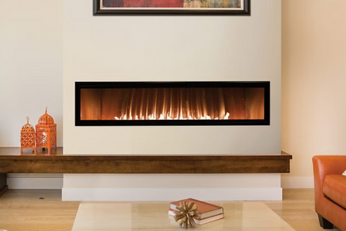 """60""""Vent Free Liner Fireplace"""