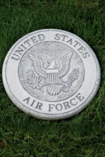 "10"" Round Stone-Air force"
