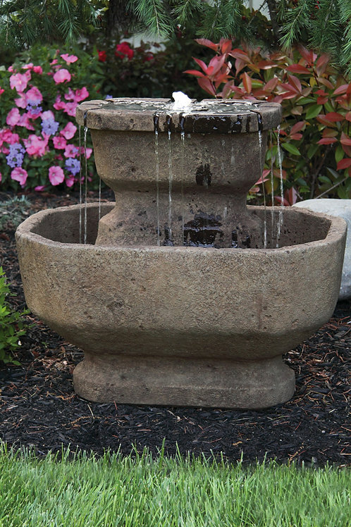 "24"" Two Tier San Marino Fountain"
