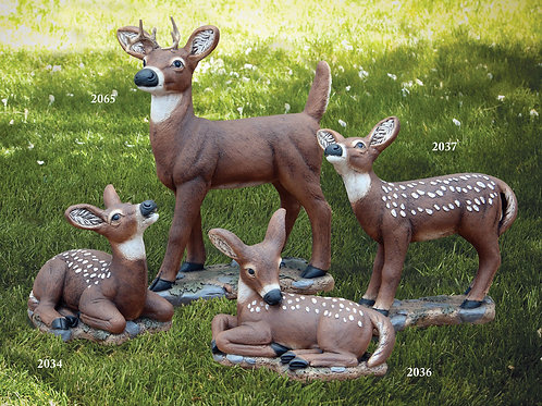 "13"" Laydown Fawn (Head Up)"