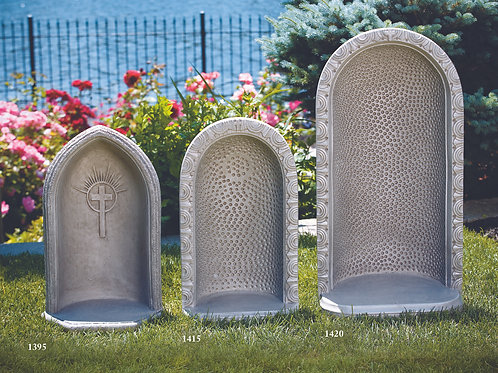 """18"""" Round Embossed Dot Grotto"""