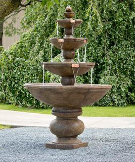 Buckingham 4-Tier Fountain