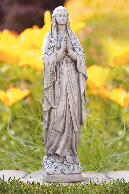 "17"" Our Lady of Lourdes"