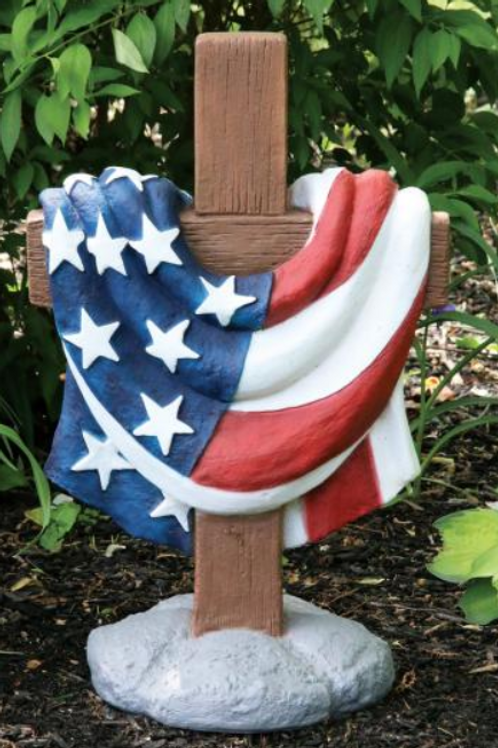 "24"" USA Memorial Cross"