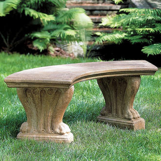 Campania Curved Westchester Bench