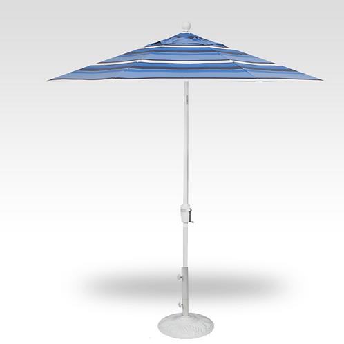 7.5' Push Button Tilt Crank Umbrella