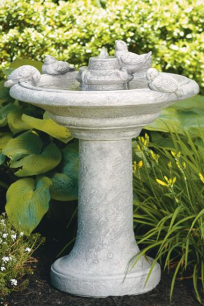"35"" Birds Of A Feather Fountain"