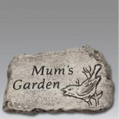 10 stone-mum's garden