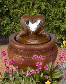 Heart of Hearts Bubbler Fountain