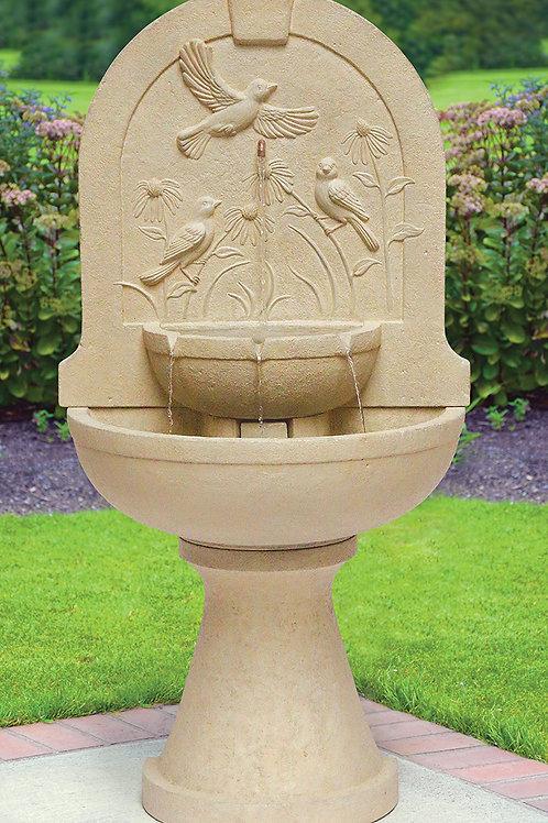 Laveen Arch Bird Wall Fountain