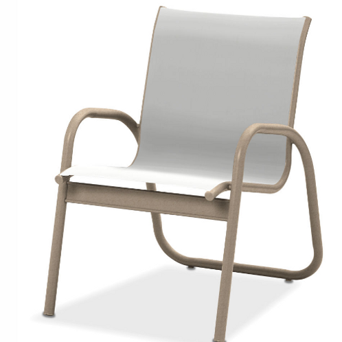 Gardenella Stacking Dining Chair with Desert Frame