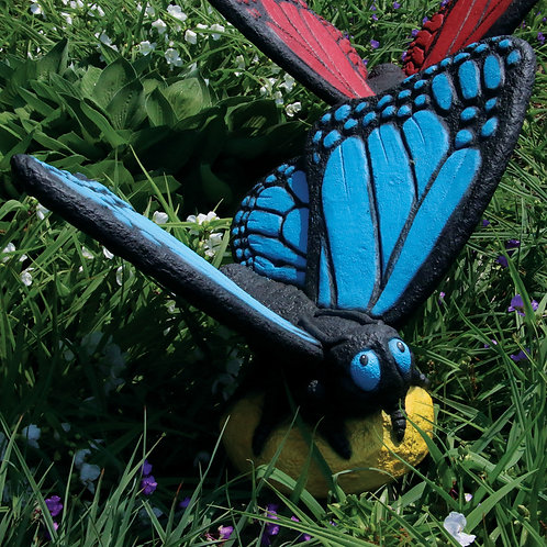 Large Butterfly – Blue