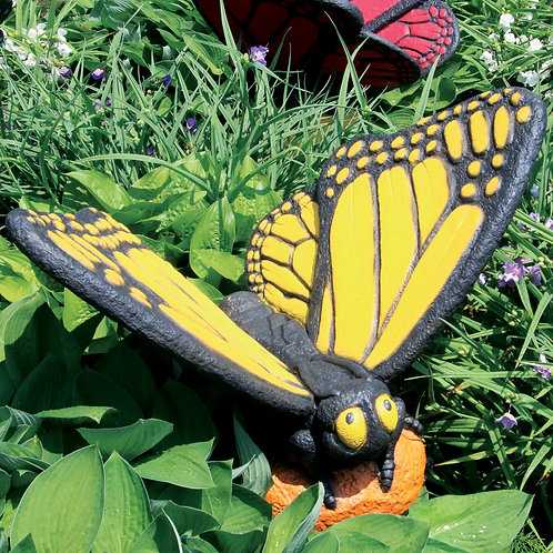 Large Butterfly – Yellow