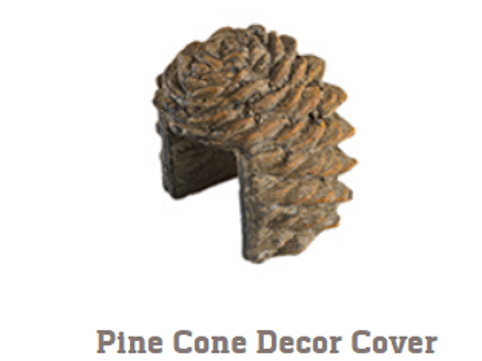 Pine Cone Decor Cover