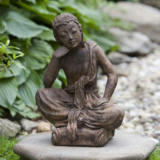 Campania Small Seated Buddha