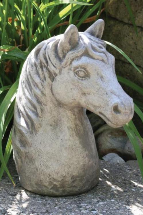 "12"" horse bust"