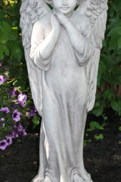 "29"" Gazing Garden Angel"