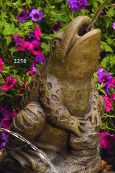 Spitting Frog - Plumbed