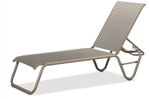 Gardenella Chaise armless with Desert Frame
