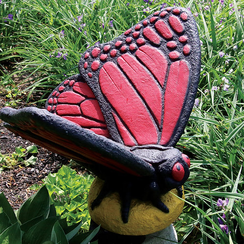 Large Butterfly – Red
