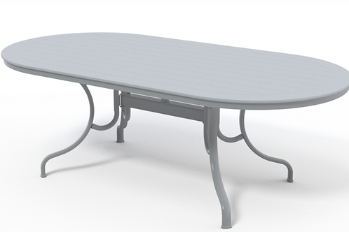 "42""x84"" Oval MGP Table W/Umb Hole"