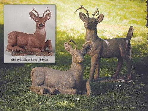 """22"""" Laydown Deer"""