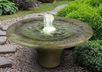 Leaf Motif Fountain