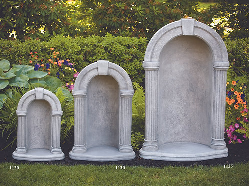 "36"" Round Keystone Grotto (For 26"" Statue)"