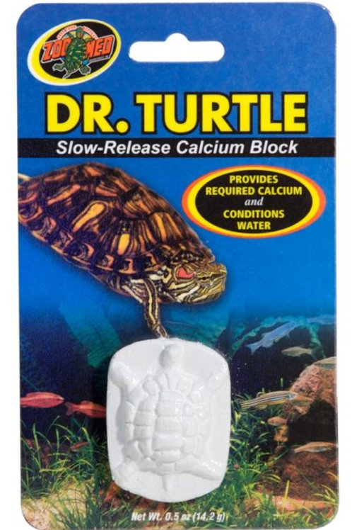 Dr. Turtle® is a slow-release calcium block