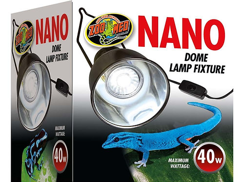 Zoo Med's Nano Dome Lamp Fixture