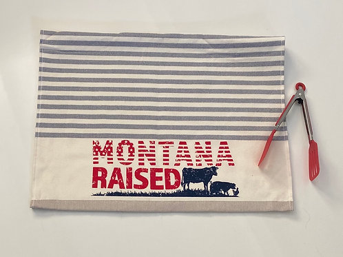 Montana Raised Dual Sided Terry Kitchen Towel -