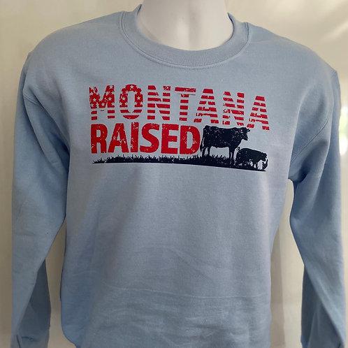 Montana Raised Crew Neck Sweatshirt