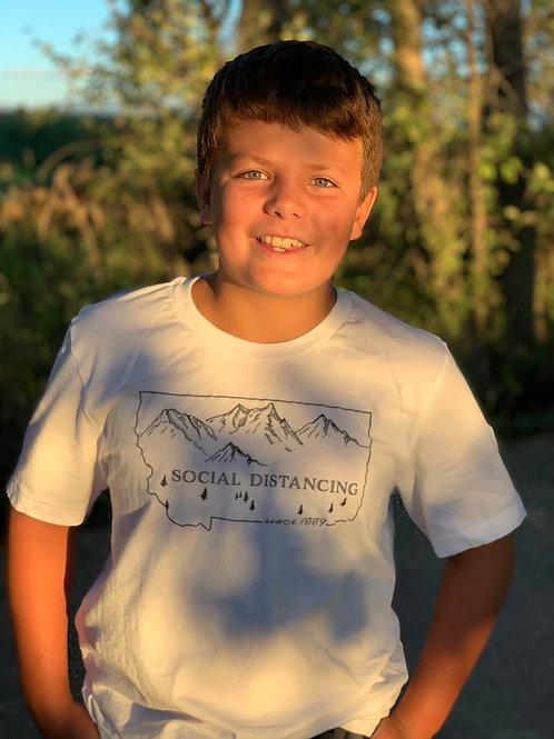 Youth Montana Social Distancing t-shirt