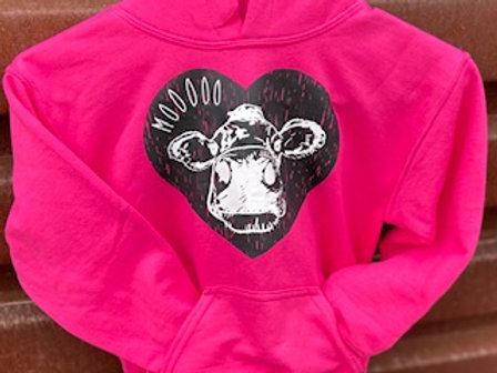 MOOO Hoodie for Youth and Toddlers