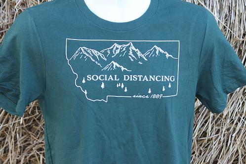 Montana Social Distancing T-shirt