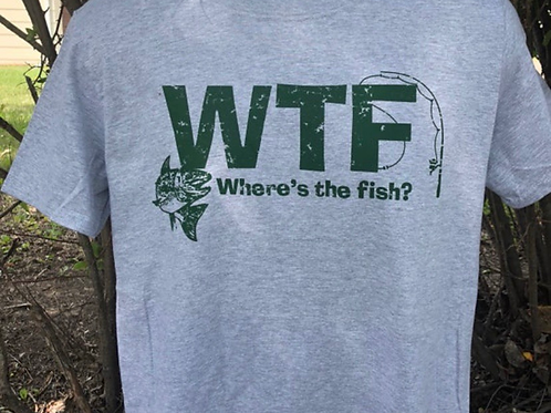 Where's The Fish T-shirt