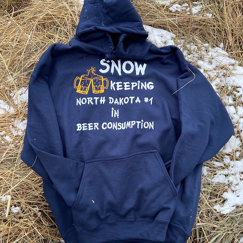 Snow keeping ND #1 in Beer Consumption