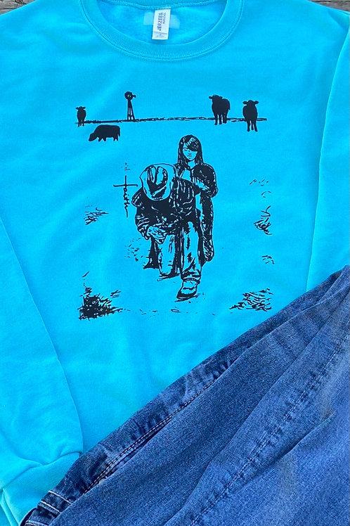 Ranchers FAITH together Crewneck Sweatshirt