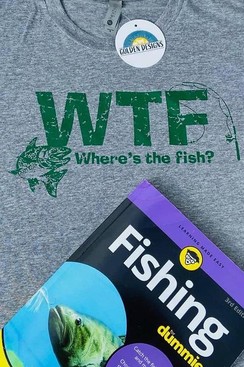 Where's The Fish T-shirt