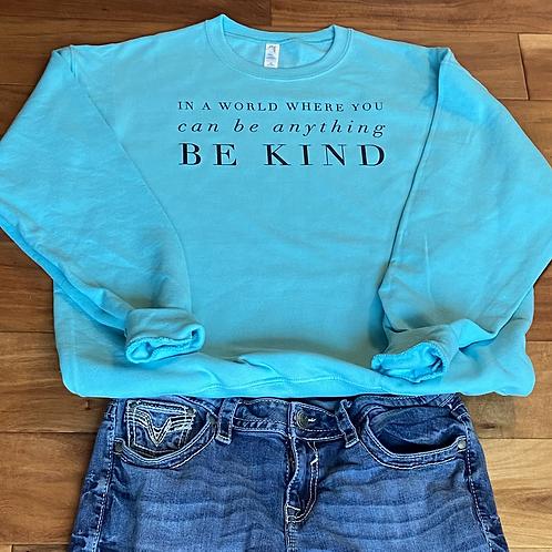 Be Kind Fleece Crew