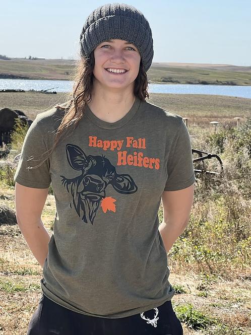 Happy Fall Heifers