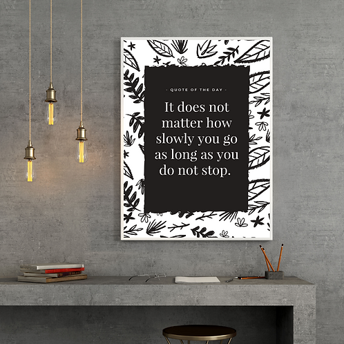Quotes Posters  (High quality print + Frame)