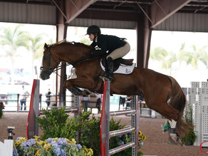 Kelsey Cruciotti and Vermont ODF Victorious in Medium A/O Jumper Classic at ESP 2