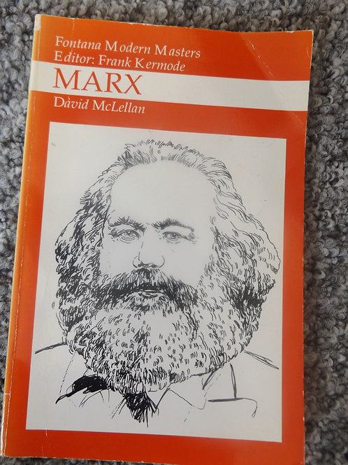 David McLellan: Marx (wee edition)